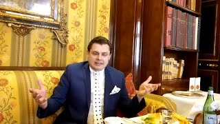 Евгений Понасенков о задумке нового нестандартного романа (Рим, 2017 г.)