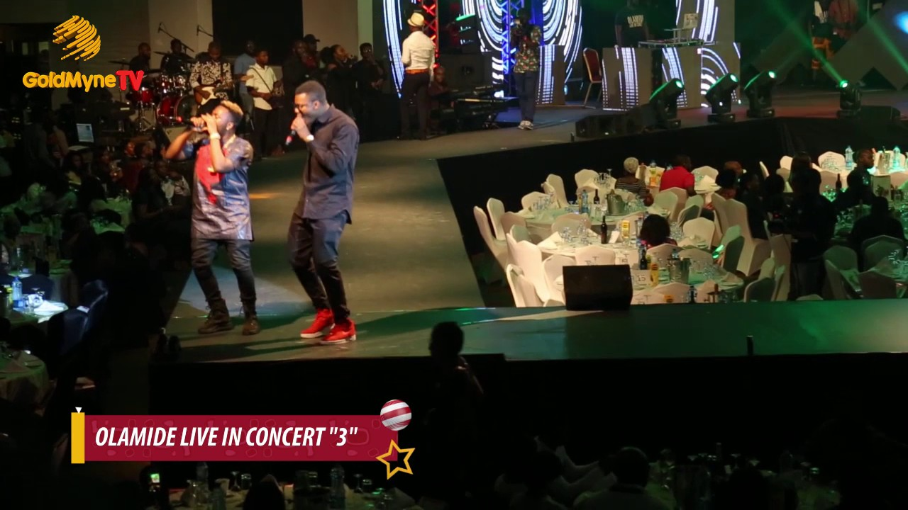 OLAMIDE PERFORMS FIVE SONGS AT #OLIC3