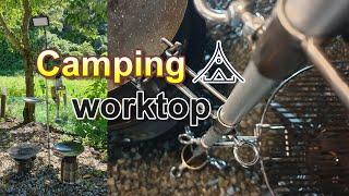 캠핑용 그릴&그리들 거치대/캠핑용 조리대 만들기…