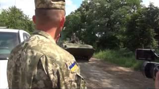 Донбасс новые бои Дебальцево и Счастье