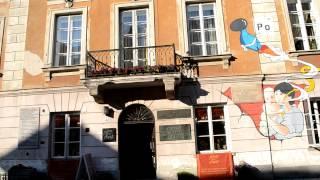 ポーランドの古都のクラクフにあるキュリー夫人の生家で、現在は博物館...