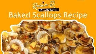 Quick and Easy Baked Scallops Recipe
