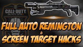 bo2 full auto remington shotgun screen target hacks black ops 2 call of duty hackers
