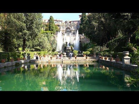 Tivoli, Italy in 4K Ultra HD