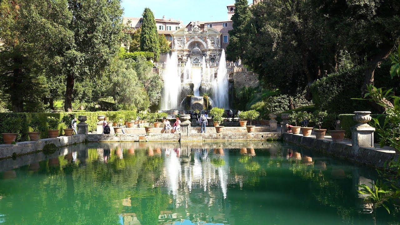 Tivoli, Italy in 4K Ultra HD - YouTube