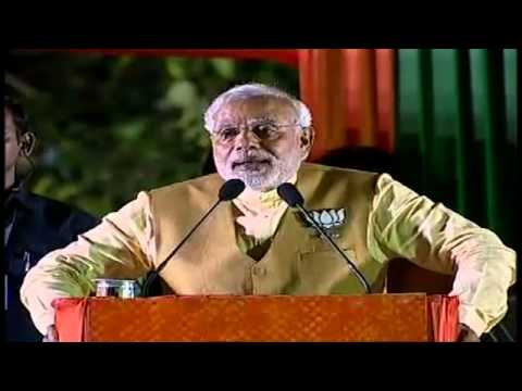 Shri Narendra Modi addressing a public meeting in Kolkata, West Bengal