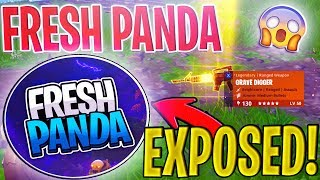 FRESH PANDA SCAMS Me For a GRAVE DIGGER! *EXPOSED* | Scammer Gets SCAMMED In Fortnite Save The World