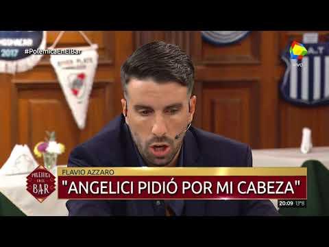 Azzaro aseguró en Polémica en el Bar que Angelici pidió su cabeza