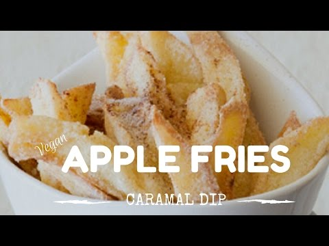 Apple Fries & Caramel Dip