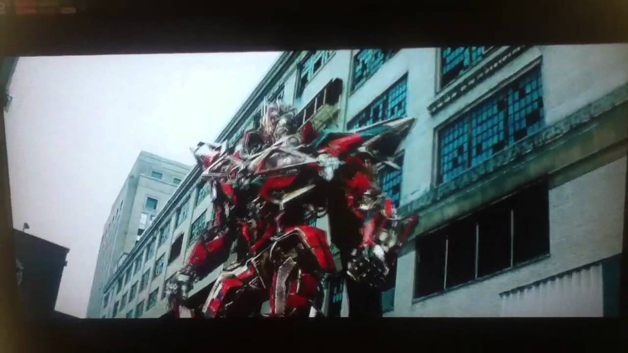 transformers 3- sentinel prime kills ironhide - youtube