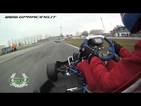 GP kart in action at POMPOSA