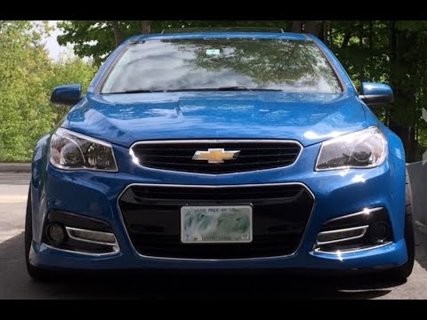Chevrolet SS Manual - One Take