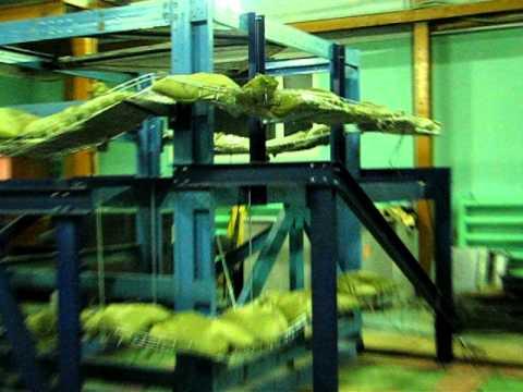 Испытания лотков металлических для электропроводок.AVI
