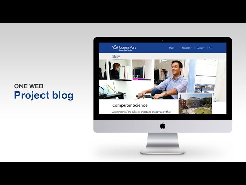 One Web project blog intro