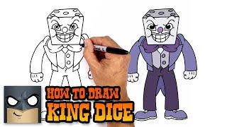 How to Draw King Dice | Cuphead