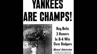 1977 World Series, Game 6 (WCBS Radio Broadcast) (Reggie!)