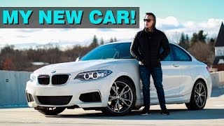 BUYING A BMW M235i | MY FIRST VLOG EVER!!