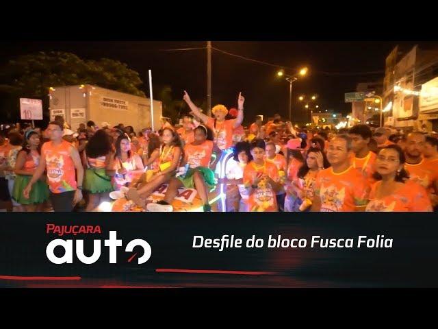 Confira como foi o desfile do bloco Fusca Folia