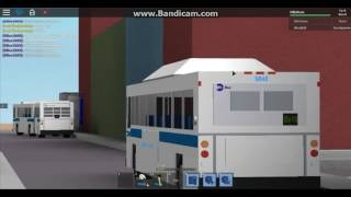 (ROBLOX/FBF) Riverbank Park bound 1999 Orion V CNG #9848 on the Bx19