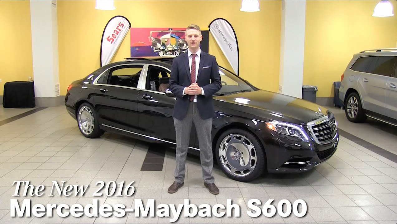 Review new 2016 mercedes maybach s600 s class minneapolis for Mercedes benz bloomington mn