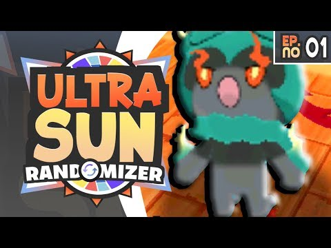 Pokemon Ultra Sun Randomizer Nuzlocke Part 1 - GREATEST STARTER OF ALL TIME!