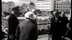 Tanskan kuningas Frederik IX (1899-1972) Kotkassa 1958