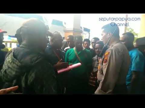 Buka Kotak Suara, Ketua PPD Ribut Dengan Saksi Paslon Pilkada Mimika