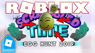 [EGG HUNT 2019 ENDED] HOW TO GET THE EGG OFF!   Roblox Grudge