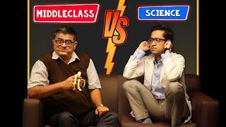 MiddleClass VS Science - Feat Gajraj Rao & Aakash Dabhade @ShemarooComedy