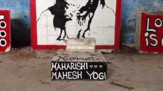 Maharishi Mahesh Yogi. Ashram de The Beatles. Rishikesh (India)