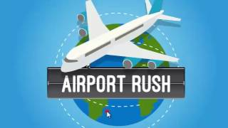 AIRPORT RUSH | AIRPORT GAMES | KIDS GAMES