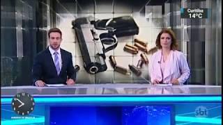 Escalada,trechos e encerramento do SBT Brasil com Analice Nicolau e Daniel Adjuto