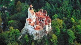 Замок Бран Румыния (Трансильвания)(Увлекательное видео о замке Бран - самом сердце Трансильвании, родине графа Дракулы. Едете в Румынию? Посети..., 2014-06-21T10:52:07.000Z)