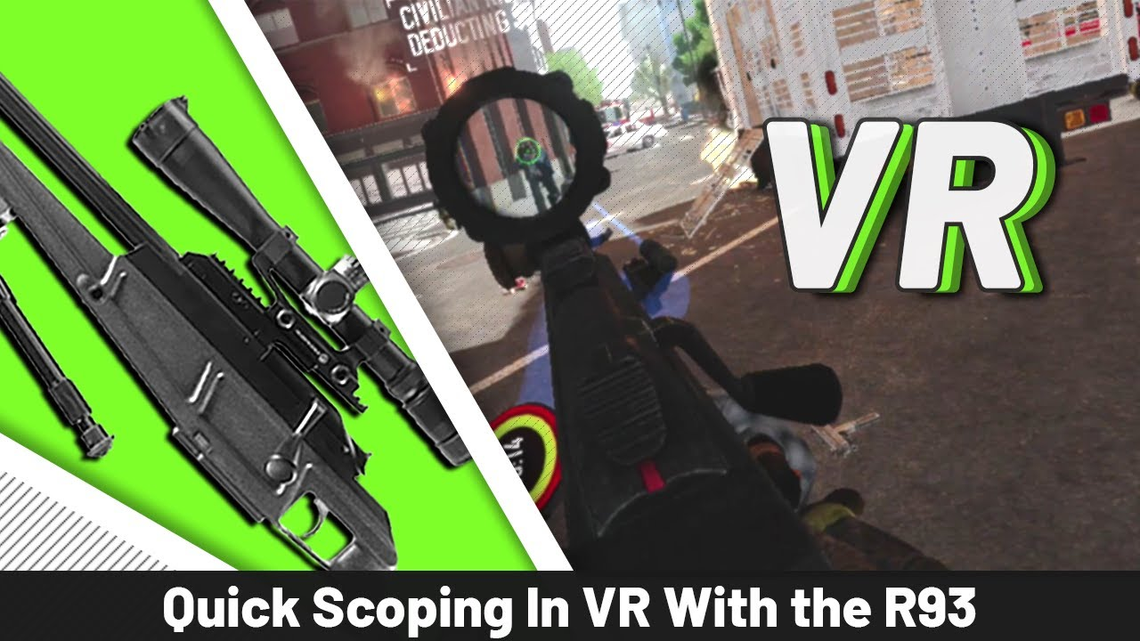 Payday 2 VR is great quick scope practice!
