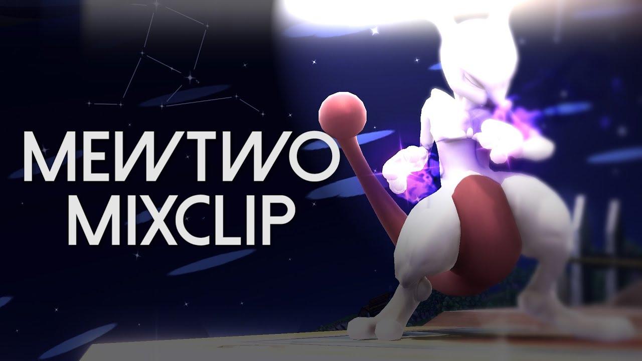 【SSB4】Mewtwo Mixclip