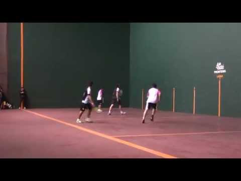 Mx Frontour - Frontenis - Final dobles (Charro/Tachi vs. Frías/Chicho) Campo Marte 2014
