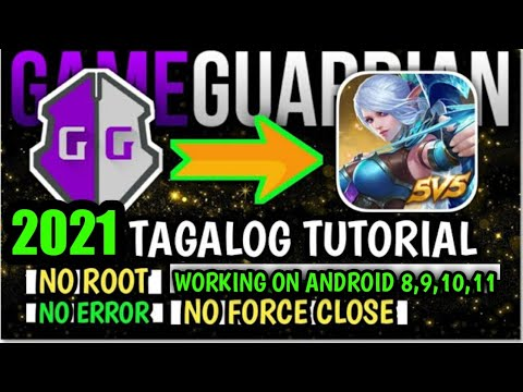 No Root & Error! Properly Install Game Guardian in Android 8,9,10,11 | Mobile Legends Tricks 2021!
