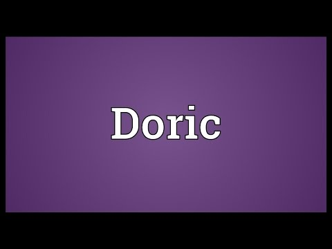 Doric Meaning
