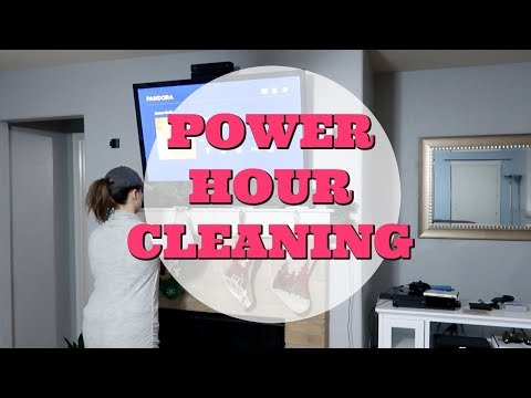 Post Vacation Power Hour Cleaning Motivation | Collab With Keep Calm and Clean