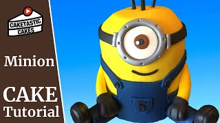 How to Make a MINION CAKE from DESPICABLE ME Cake Decoration with Caketastic Cakes