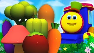 боб овощной поезд | овощи на поезде | мультфильмы для детей | Bob Vegetable Train | Kids Tv Russia