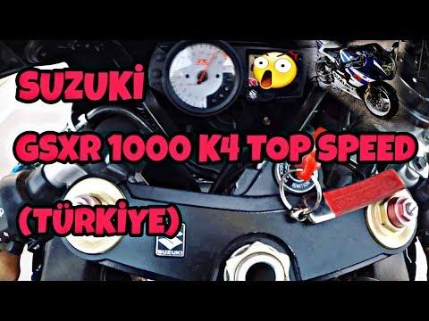 SUZUKİ GSXR 1000 K4 TOP SPEED (TÜRKİYE)
