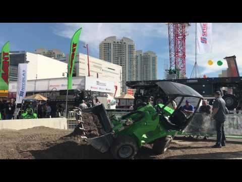 ConExpo Con/Agg 2017 Amazing machines on display. Billions of dollars worth all in place.