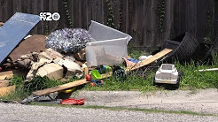 Eliminating illegal curbside dumping