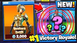 VENTURA SKIN! New Fortnite Skin! (Fortnite Battle Royale)
