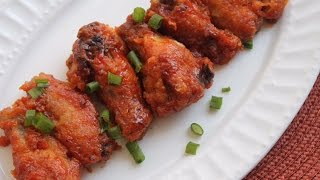 oven fried bbq chicken wings