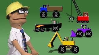 Chris Cross Construction - Construction Video For Kids