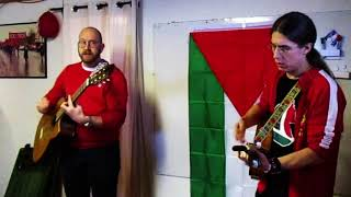 Oskar Wigren & Joakim Tegblom - Leve Palestina (Röda stjärnan, Umeå 2018)