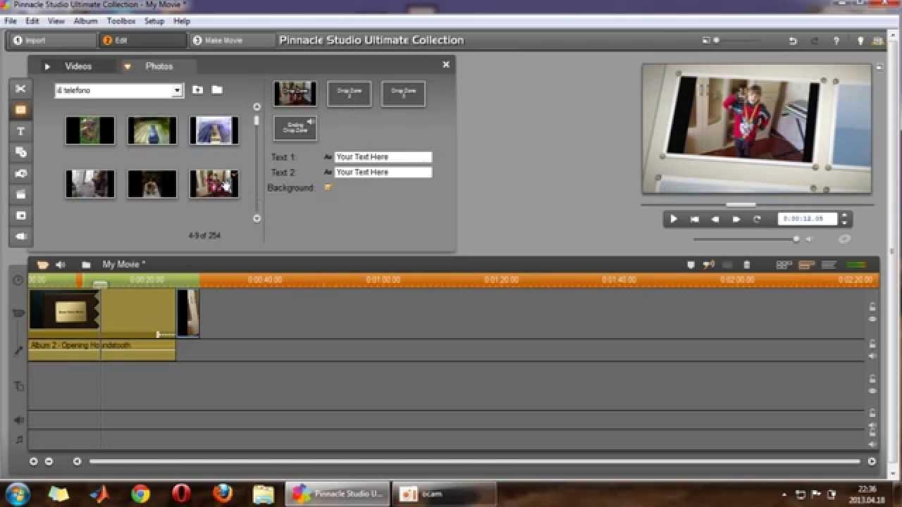 Useful pinnacle studio trick in montage theme youtube maxwellsz