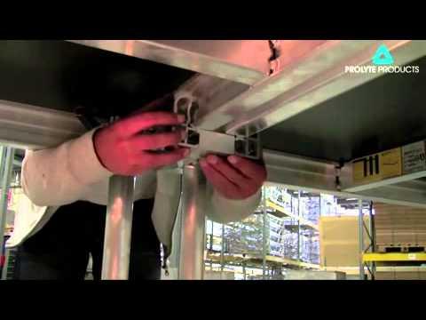 Prolyte Stagedex Locking the decks together - Part 2
